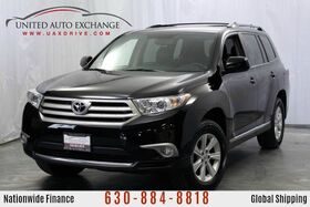 2012_Toyota_Highlander_AWD 3.5L V6 Engine w/ 3rd Row Seats, Rear View Camera, Sunroof, DVD Entertainment System, Heated Leather Front Seats_ Addison IL
