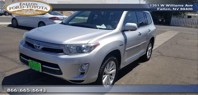 2012 Toyota Highlander Hybrid WAGON 4 DOOR Fallon NV