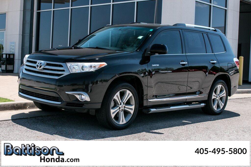 2012_Toyota_Highlander_Limited_ Oklahoma City OK