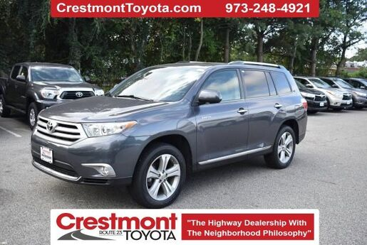 2012 Toyota Highlander Limited Pompton Plains NJ