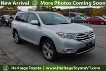 2012 Toyota Highlander Limited South Burlington VT