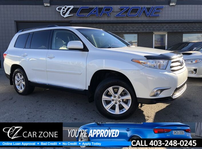 2012 Toyota Highlander One Owner, Low Kms, 4WD Calgary AB