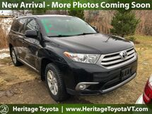 2012 Toyota Highlander SE South Burlington VT