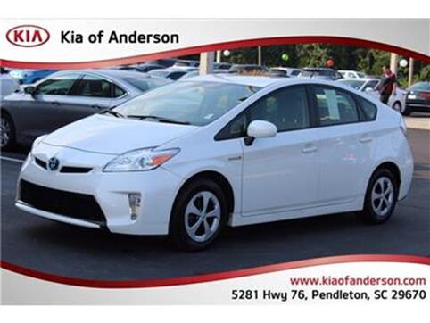 2012_Toyota_Prius_Five Hatchback_ Pendleton SC