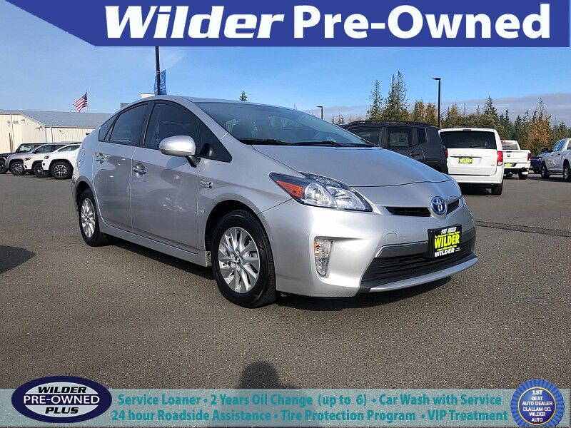 2012 Toyota Prius Plug-in 5d Hatchback Port Angeles WA