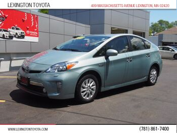 Toyota Prius Plug-in Hybrid Advanced 2012
