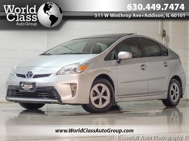 2012 Toyota Prius Three - PUSH BUTTON START SUN ROOF ALLOY WHEELS FUEL EFFICIENT CLEAN Chicago IL