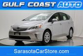 2012 Toyota Prius V TWO HYBRID ONLY 72K MILES CARFAX CERTIFIED