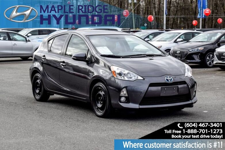 2012 Toyota Prius c 5dr HB Technology Maple Ridge BC