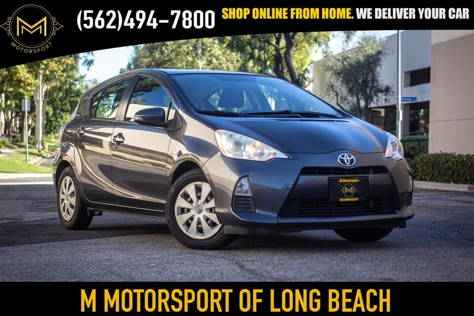 2012_Toyota_Prius c_Two Hatchback 4D_ Long Beach CA