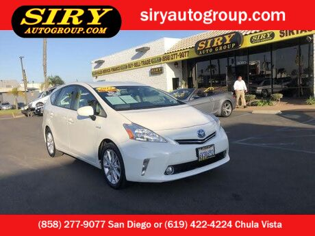 2012 Toyota Prius v Five San Diego CA