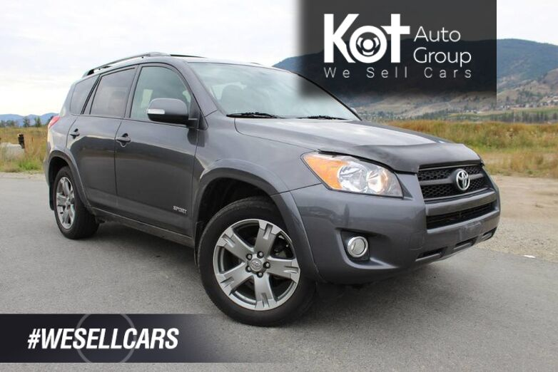 2012 Toyota RAV4 4WD, Sport, One Owner, Lots of Room Kelowna BC
