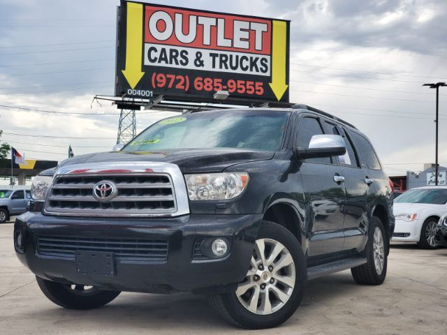 2012 Toyota Sequoia Limited 2WD Dallas TX