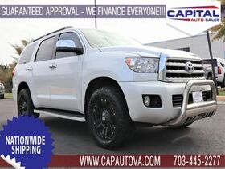 2012_Toyota_Sequoia_Platinum_ Chantilly VA