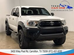 2012_Toyota_Tacoma_PRERUNNER DOUBLE CAB V6 AUTOMATIC REAR CAMERA BED LINER RUNNING BOARDS TOWING PKG_ Carrollton TX
