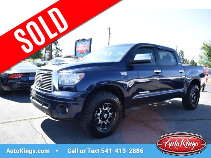 2012 Toyota Tundra 4WD CrewMax Limited Bend OR