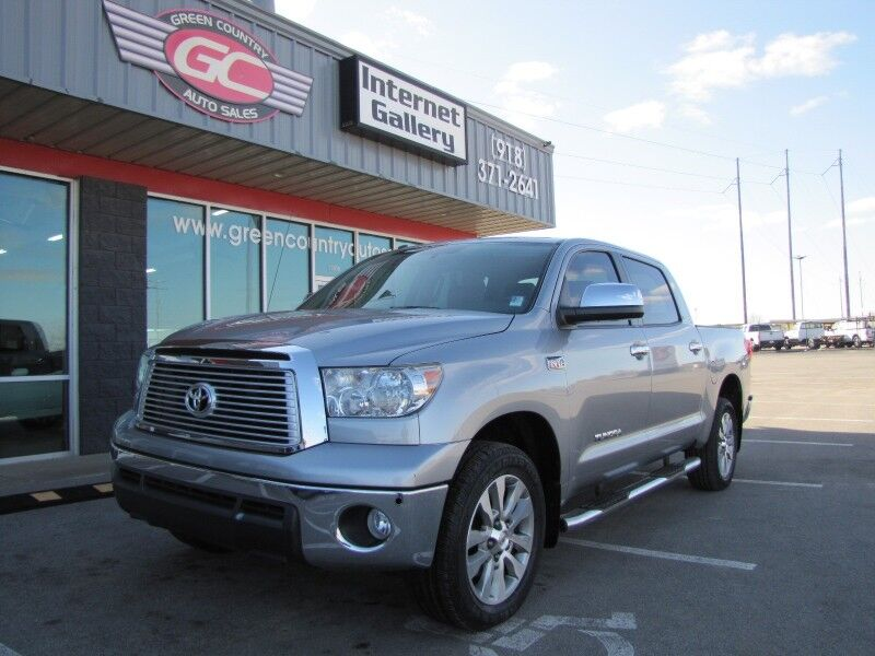 2012 Toyota Tundra Crewmax 4x4 PLATINUM Leather Sunroof Collinsville OK