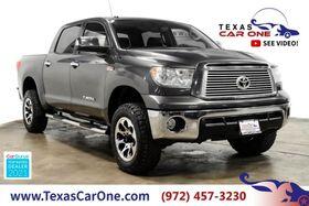2012_Toyota_Tundra_LIMITED 5.7L CREWMAX PLATINUM PKG NAVIGATION SUNROOF LEATHER REA_ Carrollton TX