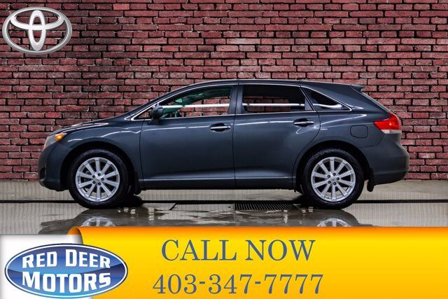 2012 Toyota Venza AWD LE Leather Roof Nav Red Deer AB