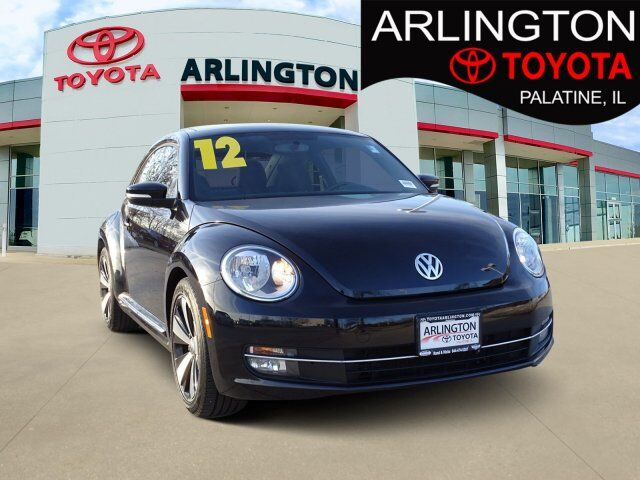 2012 Volkswagen Beetle 2.0T Black Turbo Launch Edition PZE Palatine IL