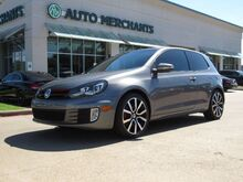 2012_Volkswagen_GTI_2-door LEATHER, SUNROOF, HTD FRONT SEATS, NAVIGATION, KEYLESS START, CLIMATE CONTROL, BLUETOOTH_ Plano TX