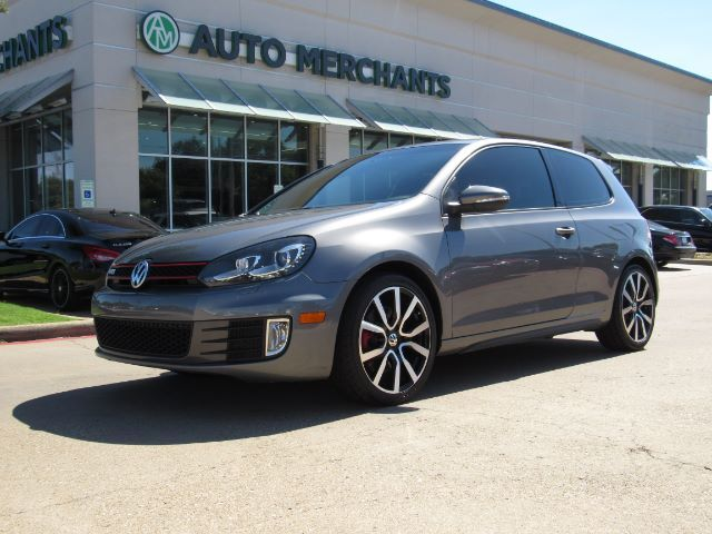 2012 Volkswagen GTI 2-door LEATHER, SUNROOF, HTD FRONT SEATS, NAVIGATION, KEYLESS START, CLIMATE CONTROL, BLUETOOTH Plano TX