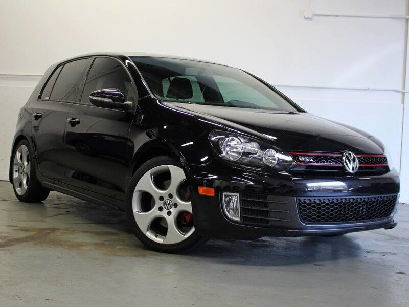 2012 Volkswagen GTI w/Conv & Sunroof 6 Speed Manual!