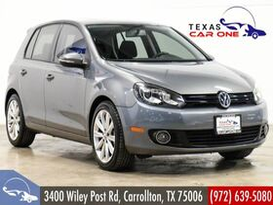 2012_Volkswagen_Golf_2.0L TDI TECH PKG NAVIGATION SUNROOF HEATED SEATS BLUETOOTH DYNA_ Carrollton TX