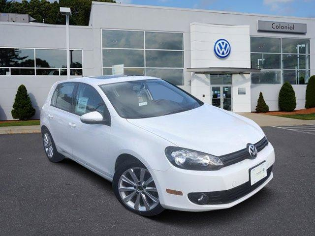 2012 Volkswagen Golf 4dr HB DSG TDI w/Sunroof & Nav Westborough MA