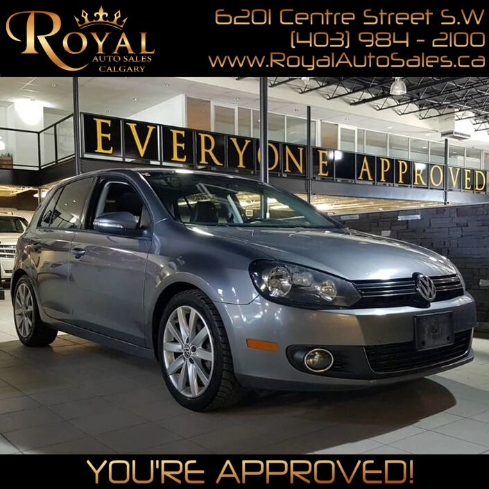 2012 Volkswagen Golf Highline Calgary AB