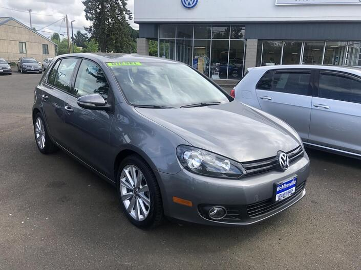 2012 Volkswagen Golf TDI 4-Door McMinnville OR