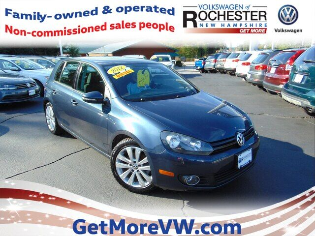 2012 Volkswagen Golf TDI 4-Door Rochester NH