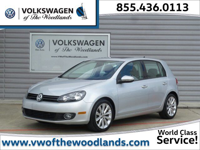 2012 Volkswagen Golf TDI w/Sunroof & Nav The Woodlands TX