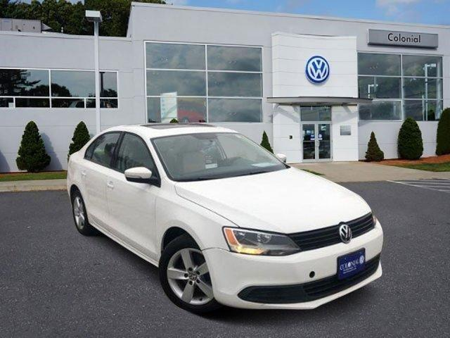 2012 Volkswagen Jetta 4dr Manual TDI w/Premium Westborough MA