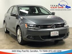 2012_Volkswagen_Jetta_SEL AUTOMATIC NAVIGATION SUNROOF LEATHER HEATED SEATS KEYLESS ST_ Carrollton TX