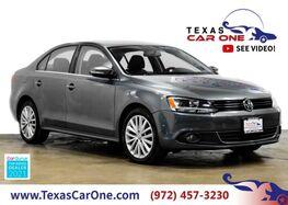 2012_Volkswagen_Jetta_SEL AUTOMATIC NAVIGATION SUNROOF LEATHER HEATED SEATS KEYLESS ST_ Carrollton TX