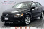 2012 Volkswagen Jetta Sedan 2.0L Turbocharged **TDI DIESEL ENGINE** FWD w/ Heated Leather Seats, Navigation, Sunroof, Bluetooth Connectivity, AUX Input, Satellite Radio Equipped