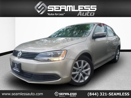 2012 Volkswagen Jetta Sedan SE w/Convenience & Sunroof PZEV Queens NY