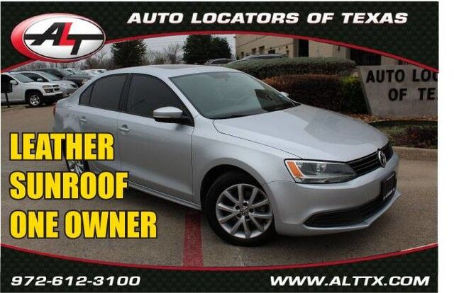 2012 Volkswagen Jetta Sedan SE w/Convenience & Sunroof Plano TX