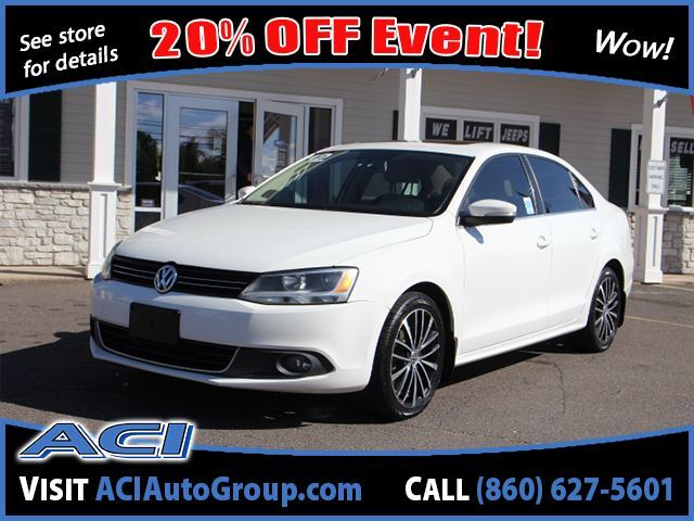 2012 Volkswagen Jetta Sedan SEL w/Sunroof PZEV East Windsor CT