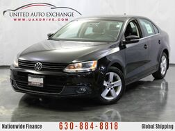2012_Volkswagen_Jetta Sedan_TDI w/Premium & Nav Manual Transmission diesel / Sunroof_ Addison IL