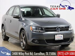2012_Volkswagen_Jetta_TDI AUTOMATIC PREMIUM NAVIGATION SUNROOF LEATHER SEATS HEATED SE_ Carrollton TX