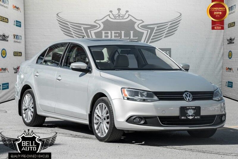 2012 Volkswagen Jetta TDI HIGHLINE SUNROOF, LEATHER, ALLOY, HEATED SEATS
