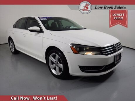 2012_Volkswagen_PASSAT_TDI SE w/Sunroof_ Salt Lake City UT