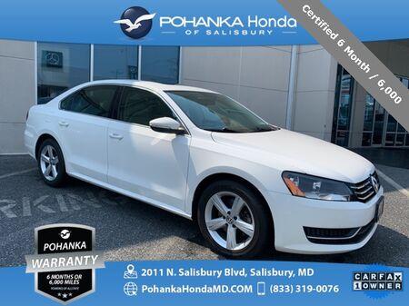 2012_Volkswagen_Passat_2.5 SE ** Certified 6 Month / 6,000 **_ Salisbury MD