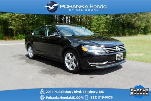 2012_Volkswagen_Passat_2.5 SE ** GUARANTEED FINANCING ** ONE OWNER **_ Salisbury MD