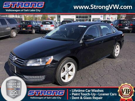2012 Volkswagen Passat SE Salt Lake City UT