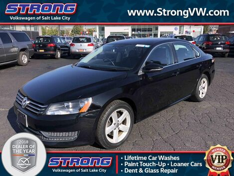 2012_Volkswagen_Passat_SE_ Salt Lake City UT