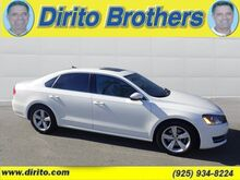 2012_Volkswagen_Passat_SE w/Sunroof & Nav PZEV_ Walnut Creek CA