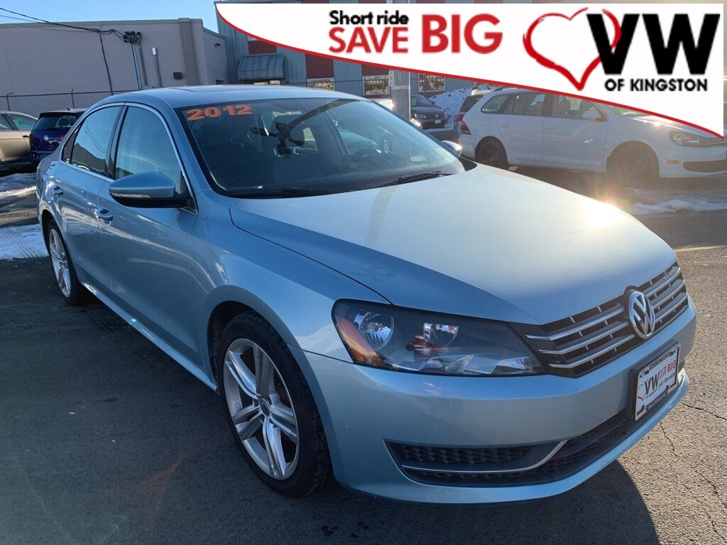2012_Volkswagen_Passat_TDI SE w/Sunroof_ Kingston NY